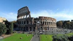 Coliseu de Roma, cartão postal da Itália