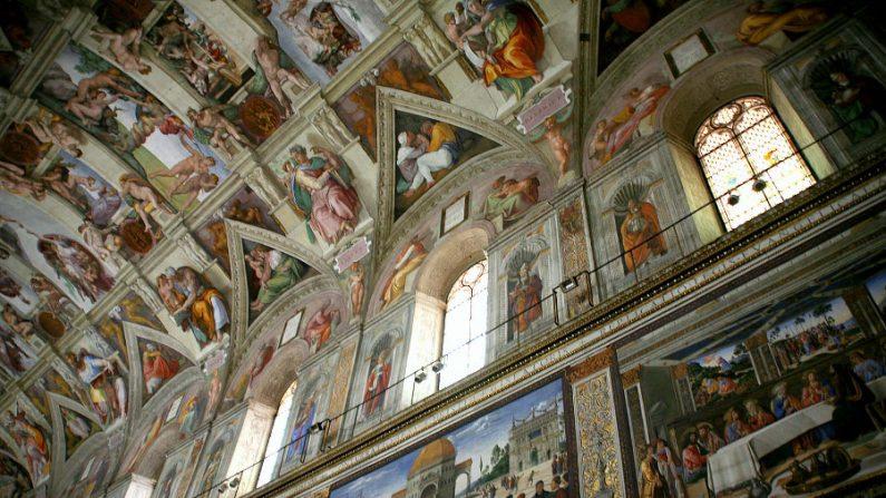 Capela Sistina, onde Michelangelo superou o humano e tocou o divino