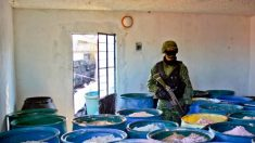 China abastece mercado de drogas do México