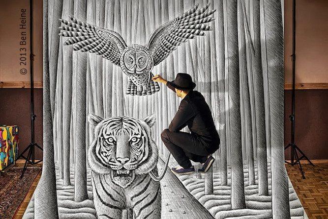 Ben Heine Um Artista Que Interage Com Seus Surpreendentes