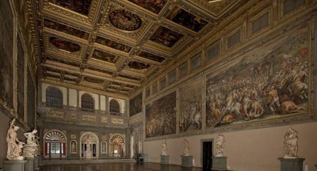 Quadro perdido de Da Vinci pode estar atrás de obra de Vasari