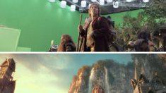 Surpreenda-se com o antes e depois dos efeitos visuais