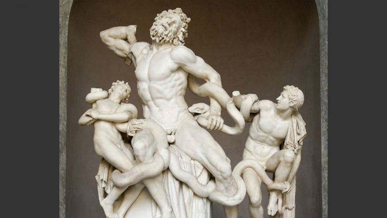 Conheça a história de Laocoonte e do cavalo de Troia