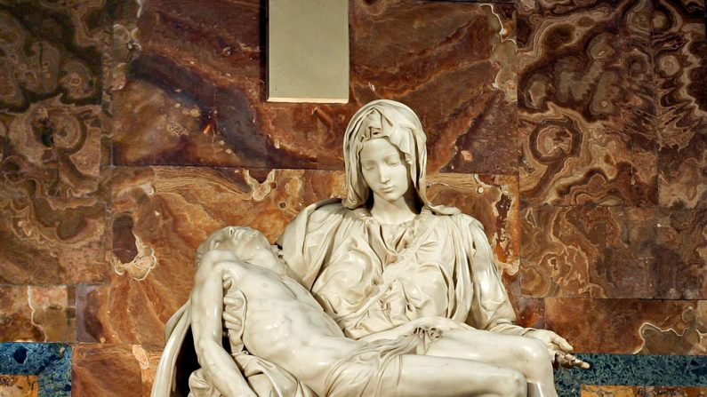Pietà: a deslumbrante obra de Michelangelo