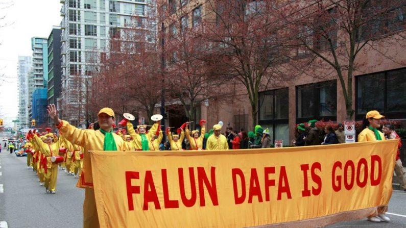 Falun Gong leva brilho e alegria a Vancouver, Canadá