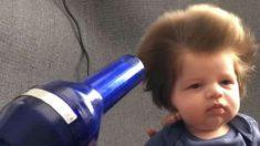 Ele nasceu com uma cabeleira incomumente cheia. O motivo da sua fama deixa os médicos perplexos