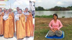 Jovem monja tem câncer curado após encontrar antiga meditação
