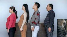 Família chinesa decide perder peso e faz mudança drástica em suas vidas. Você não acreditará como eles estão agora!