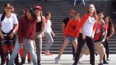 Rapaz faz maravilhoso espetáculo de dança para namorada