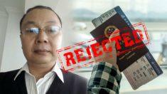 Professor é perseguido pelo Partido Comunista Chinês e proibido de viajar para o exterior