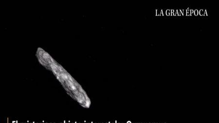 Harvard acredita que asteroide Oumuamua pode ser espaçonave alienígena (Vídeo)