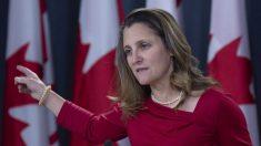 Canadá exige libertação de canadenses detidos na China e recebe apoio de aliados