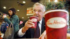 Co-fundador da Tim Hortons, Ron Joyce, morre aos 88 anos