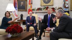 Democratas e Casa Branca permanecem profundamente divididos sobre muro da fronteira