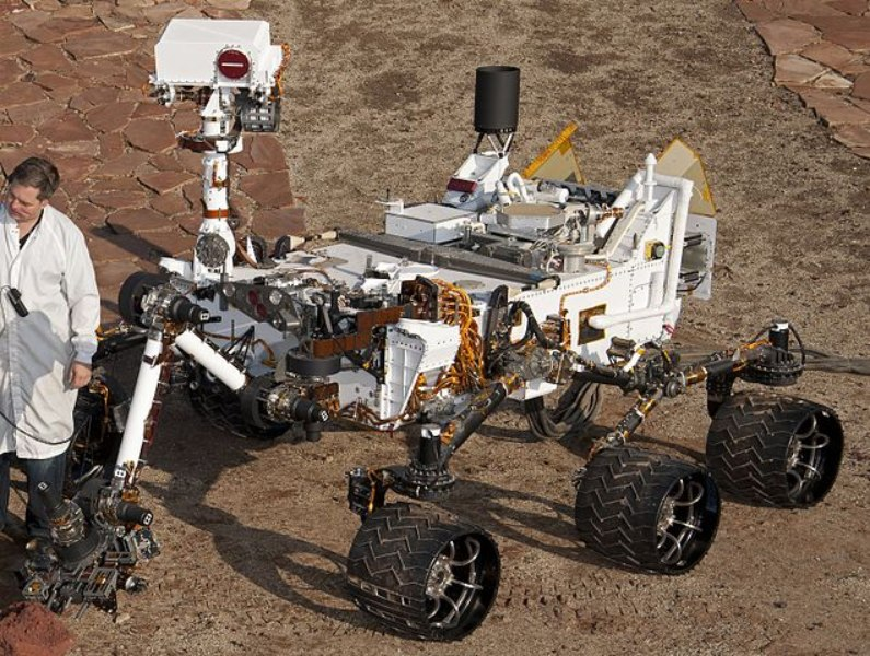 Robô Curiosity Rover da NASA (Nasa / Wikimedia Commons / CCO 1.0)