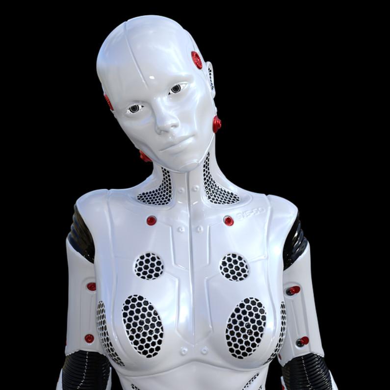 Robô ciborgue (TheDigitalArtist / Pixabay)