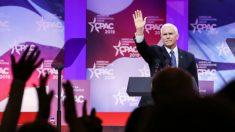 """Você tem que escolher entre """"liberdade e socialismo"""", diz Pence, dando como exemplo a Venezuela"""