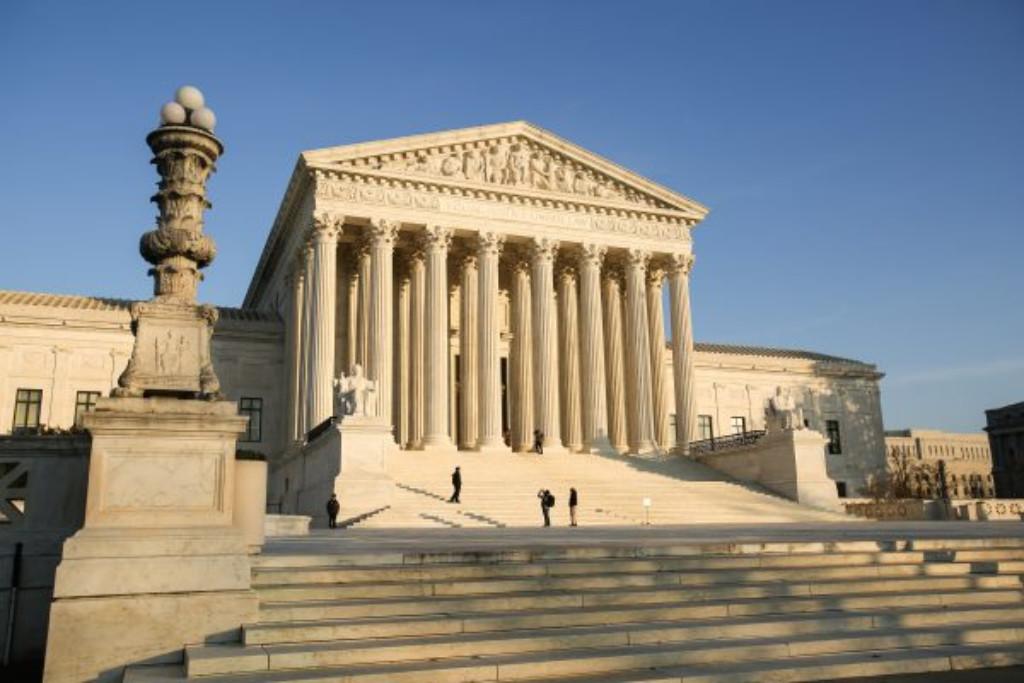 Supremo Tribunal dos EUA em Washington, em 10 de dezembro de 2018 (Samira Bouaou / Epoch Times)