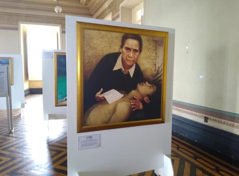 Exposição de arte Zhen Shan Ren no Palácio do Rio Branco em Salvador, Bahia (Miguel Campos)