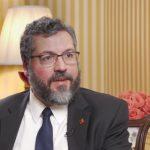Entrevista com ministro das Relações Exteriores do Brasil, Ernesto Araújo: como recuperar a alma do país (Vídeo)