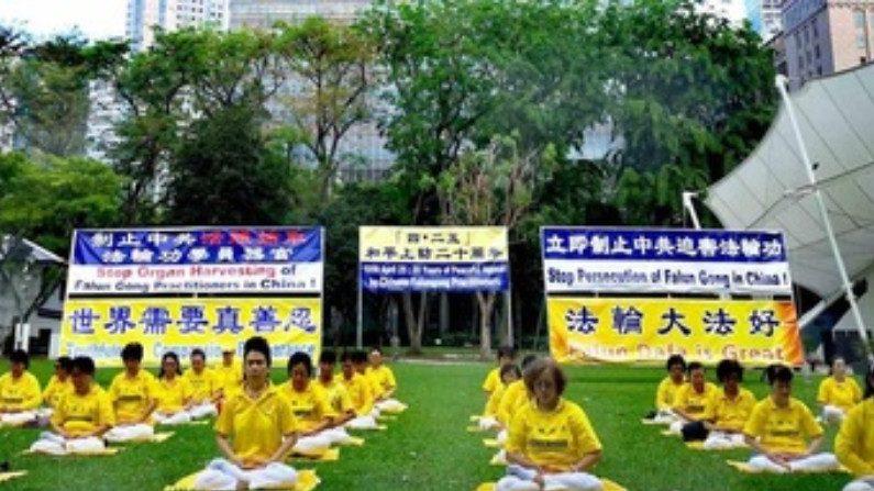 """Singapura: manifestação celebra 20º aniversário do apelo pacífico de """"25 de abril"""""""