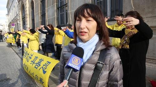 Sandrine (Minghui.org)
