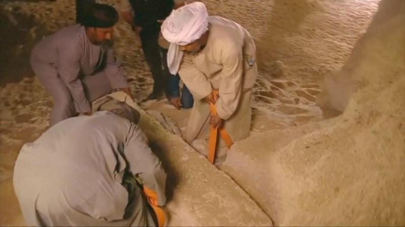Egito revela múmia de 2.500 anos em cemitério perdido