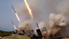 Coreia do Norte realiza novo exercício militar e lança mísseis de curto alcance