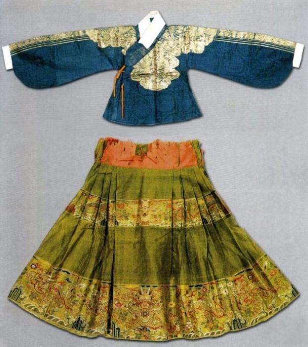 Vestido estilo Ming (©Wikimedia CommoVestido estilo Ming (©Wikimedia Commons | hanfulove)ns | hanfulove)
