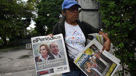 Ex-primeira-dama e candidato de centro-direita vão ao 2º turno na Guatemala