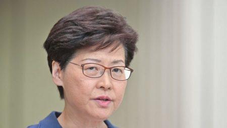 """Carrie Lam decepciona ao afirmar que lei de extradição está """"morta"""", mas se recusa a retirá-la"""