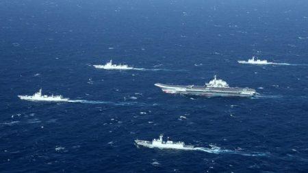 China realiza treinamento militar em águas próximas a Taiwan