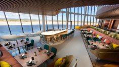 Virgin Galactic divulga salão de luxo em seu aeroporto de turismo espacial