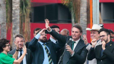 Número de novo partido será 38, diz Bolsonaro