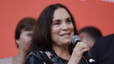 Regina Duarte vai à Brasília conhecer Secretaria Nacional de Cultura: 'Estamos noivando'