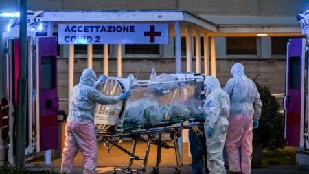 Itália registra quase 500 mortes em 24 horas pelo vírus do PCC