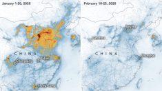 Imagens da NASA mostram declínio na poluição sobre a China em meio ao surto de coronavírus
