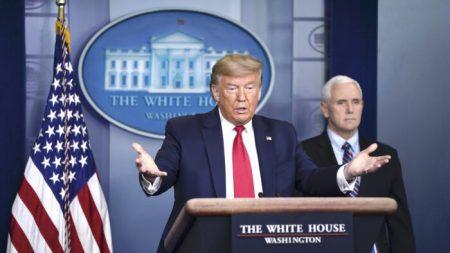Trump diz que tem dúvidas sobre os dados oficiais de vírus da China