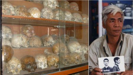 Artista foi forçado a comer insetos para sobreviver sob o Regime Comunista de Pol Pot