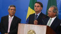 Reunião tratou de temas reservados, diz Bolsonaro