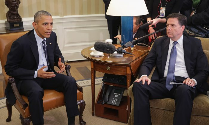 E-mail desclassificado revela conversa de Obama e Comey sobre Flynn