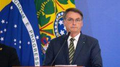Bolsonaro compara medidas de isolamento com crise na Venezuela