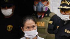 Keiko Fujimori é libertada sob fiança e passa por teste de COVID-19