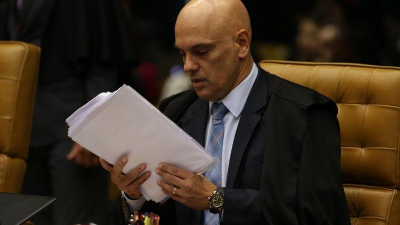 Ministro Alexandre de Moraes determina investigação ao PTB