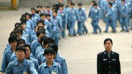 Como a China explora prisioneiros para fazer mercadorias para exportação