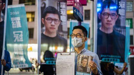 Pedido de sanções do ativista de Hong Kong ganha apoio no Parlamento do Reino Unido