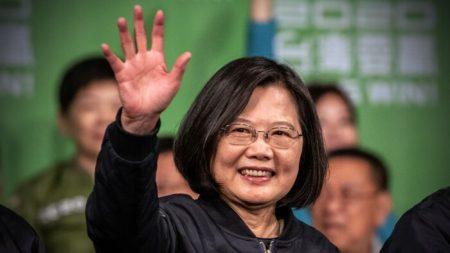 Presidente de Taiwan agradece o crescente apoio dos Estados Unidos