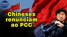 Chineses renunciam ao Partido Comunista Chinês