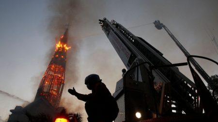 O incêndio no Chile e a recusa do Belo