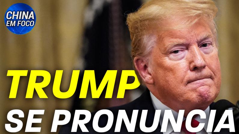 Trump se pronuncia
